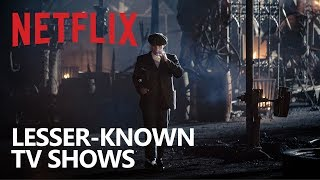 Most of you have heard of or even watched the popular Netflix TV shows that get promoted a lot like like the various Marvel shows, House of Cards, Orange is the New Black, and Stranger Things.  There are also a lot of great shows on Netflix that don't get the same attention in the press, so they are not as well known to some people. In this video, I will let you know about 10 lesser-known Netflix shows that just may be worth your time to watch. Depending on where you live, some of these may not be available on Netflix in your area.Netflix Playlist: https://www.youtube.com/playlist?list=PLunpbmfrhFAXnYof76bq-7dEBrogKuOhe▶Subscribe: https://www.youtube.com/techgumbo▶Share This Video: https://youtu.be/F757M-4fHKMNetflix: https://www.netflix.com/Music by: Gunnar Olsen, Jingle Punks, Vibe Tracks & Silent Partnerhttps://www.youtube.com/audiolibrary/music