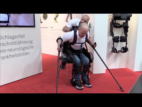 Querschnitt Rollstuhl elektrisches Skelett Test