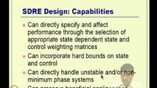 Mod-09 Lec-19 SDRE And θ -- D Designs