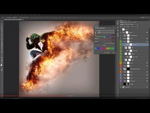 1- PhotoShop CC| open new project| فتح مشروع  جديد