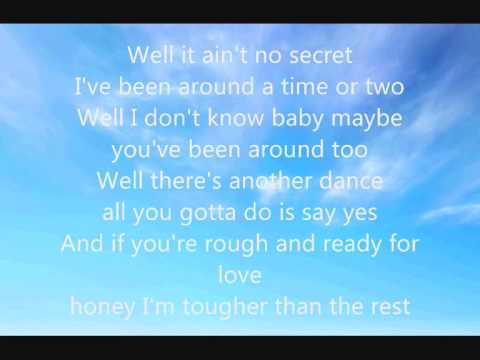 bruce springsteen tougher than the rest lyrics
