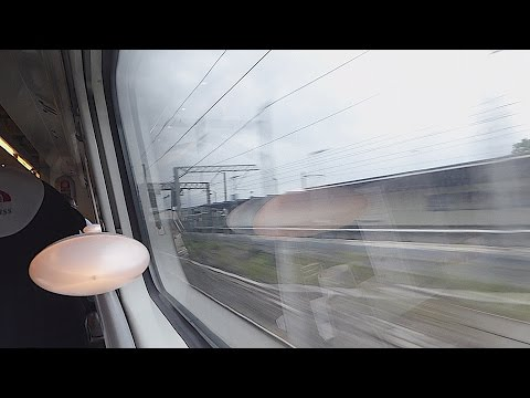 Passing Carnforth on a Virgin Trains 'Pendolino' (26/9/16)