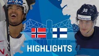 Норвегия - Финляндия 2-3 OT