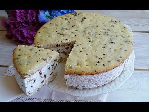 torta biscotto gelato, fresca e di grande effetto - ricetta
