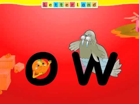 Letterland Spelling Tip: 'ow' sound