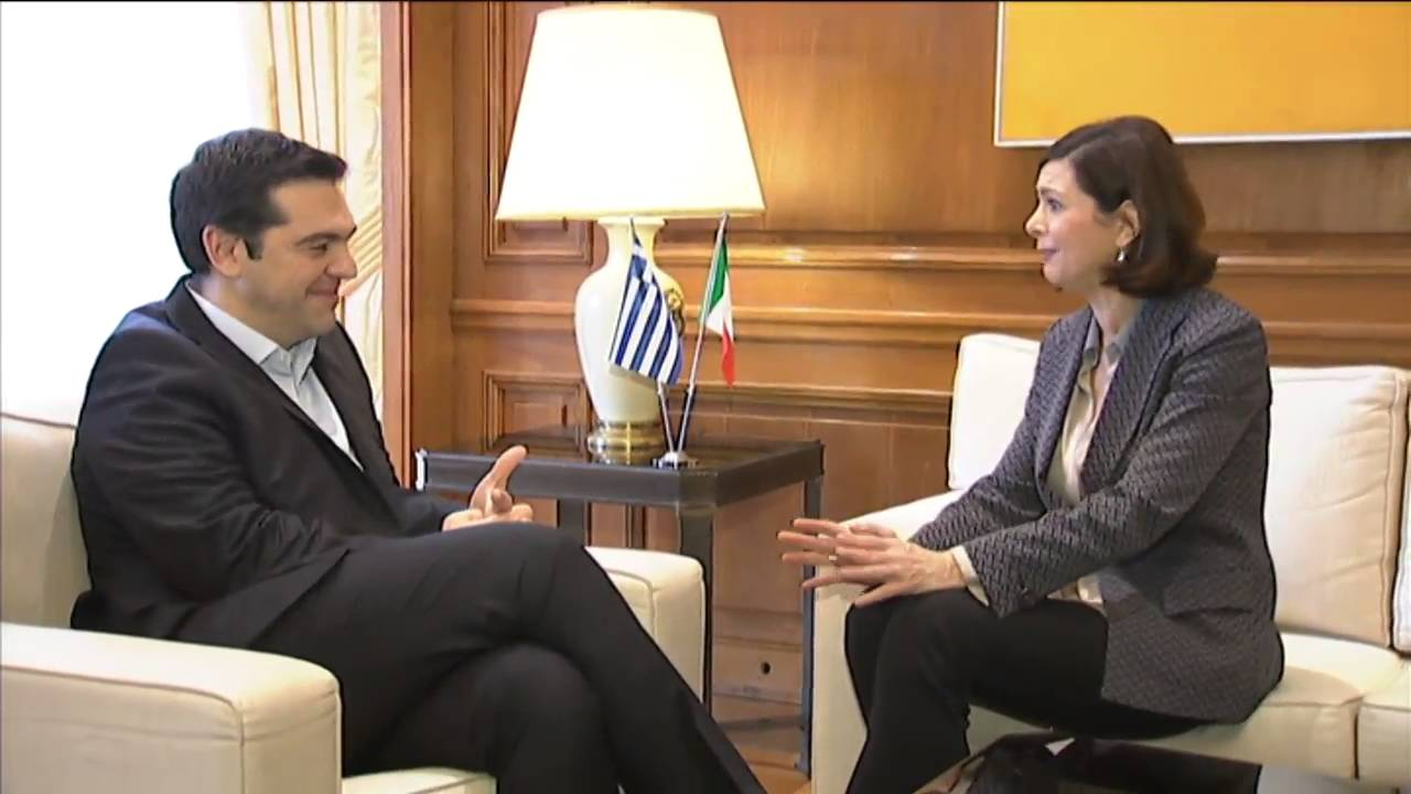 Meeting with the President of the Chamber of Deputies of Italy, Laura Boldrini