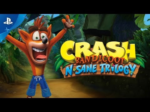 Crash Bandicoot : The N sane Trilogy trailer