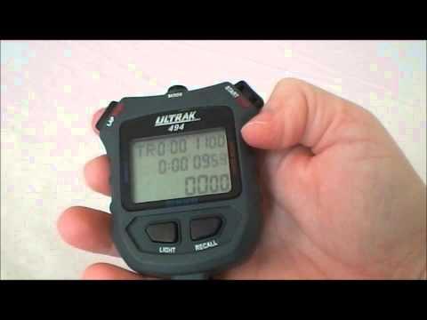 Ultrak 494 Stopwatch