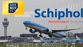 In deze video zie enkele van mijn opnames die ik het afgelopen jaar ②⓪①⑥ heb opgenomen rond de luchthaven Schiphol. Heb dit op muziek gemonteerd en wens u veel kijk plezier toe.Met vriendelijke groet, 17Splinter/Schipholhotspot.