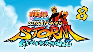Naruto Shippuden Ultimate Ninja Storm Generations - Walkthrough Part 8 Kyuubi Vs Cursed Seal