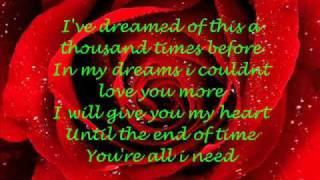 My Valentine Lyrics - Martina Mcbride