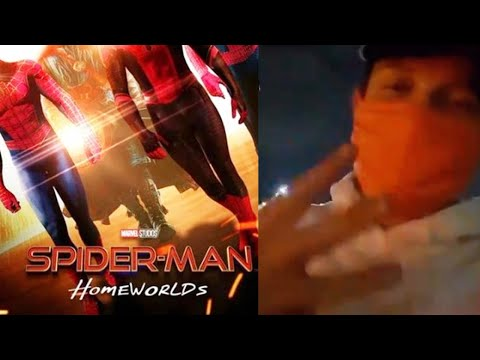 FIRST SPIDER-MAN 3 VIDEO Shared By Tom Holland! Gwen Stacy In Spider-Man 3!