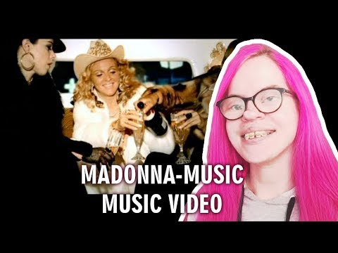 MADONNA - MUSIC (MUSIC VIDEO REACTION) | Sisley Reacts
