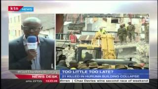 Residents Living Next To The Collapsed Building In Huruma Asked To Relocate