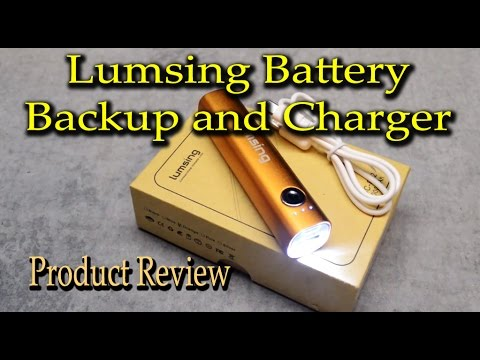 Lumsing Battery Backup and Charger Product Review