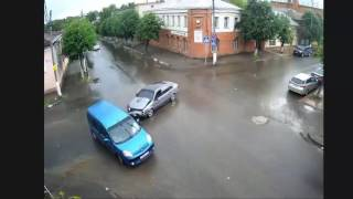 Serpukhov Russia  city pictures gallery : Serpukhov, Russia Intersection Collisions (Compilation)