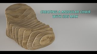 In this video we will see how we can model a modular chair by using 3ds Max. We will start off with a primitive geometry, and then with the help of intersecting splines get the primary shapes for the model.