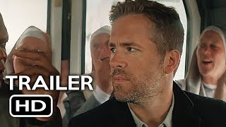 The Hitman's Bodyguard Official Trailer #2 (2017) Ryan Reynolds, Samuel L. Jackson Action Movie HD