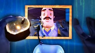 HOW TO BECOME THE NEIGHBOR WITH THE GOLDEN APPLE!! (Hello Neighbor Secrets / Hello Neighbor Alpha 4)
