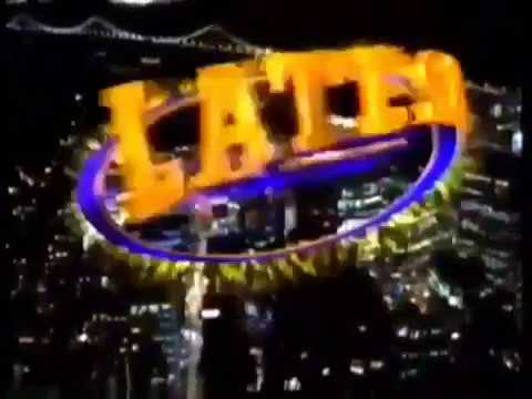 Late Show with David Letterman in San Francisco FULL EPISODE (5/6/96)