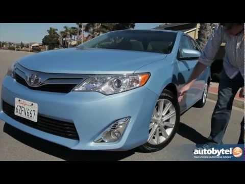 2013 Toyota Camry XLE V6 Midsize Sedan Video Review
