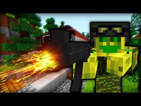 STURM!! WAFFEN!! ACTION!! - Minecraft Modded Adventure Map [Deutsch/HD]
