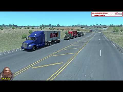AI ATS Global Trailers Rckps v1.1 For 1.36.x