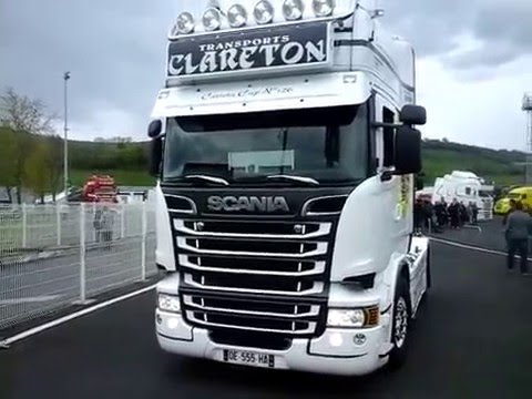 les camions du coeur 15000 AURILLAC le 08 mai 2016