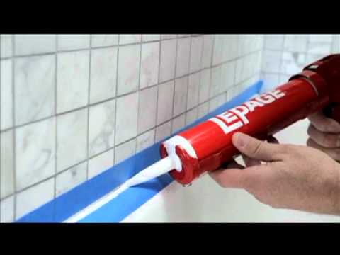 How to Seal Around A Tub Or Shower
