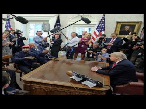 Rencontre WTF entre Kanye West et Donald Trump à la Maison Blanche