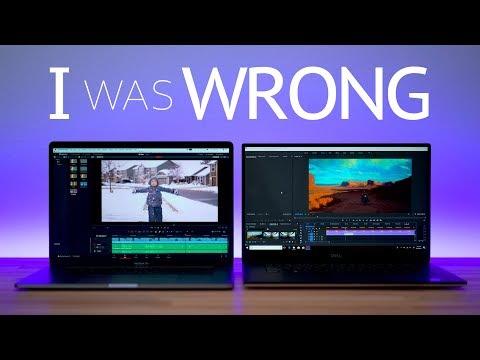 2018 i9 Macbook Pro vs Dell XPS 9570 - VIDEO EDITING Comparison! Resolve, Premiere, FCX