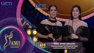 Video Raisa – Isyana Sarasvati | Pemenang Kategori Duo / Grup Soul / RnB / Urban Terbaik | AMI AWARDS 20th MP3, 3GP, MP4, WEBM, AVI, FLV September 2018