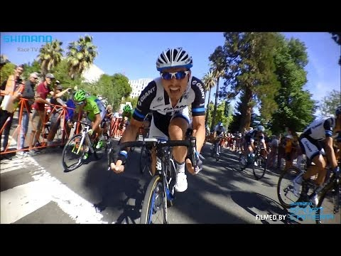 Cameras on John Degenkolb's bike capture sprint finish frenzy