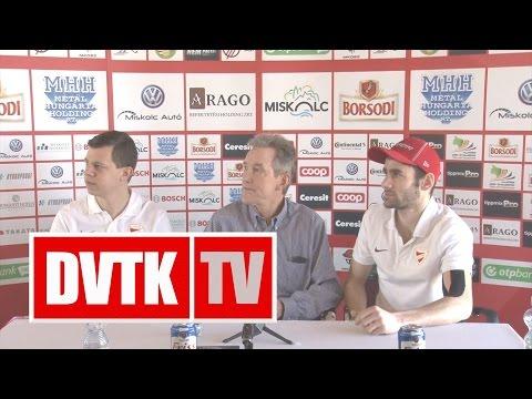DVTK Jegesmedvék - Újpest a negyeddöntőben   2017. február 27.   DVTK TV