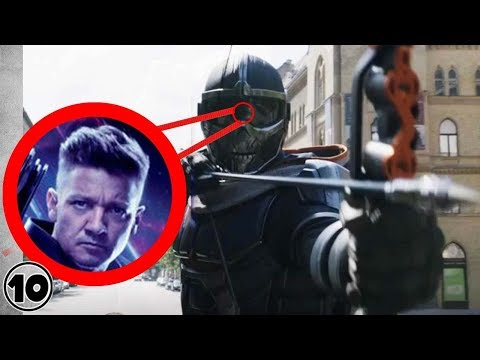 Top 10 Black Widow Easter Eggs You Missed In The Teaser Trailer