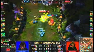 Doublelift Twitch VS Megazero Riven - The Duel Of NA LCS