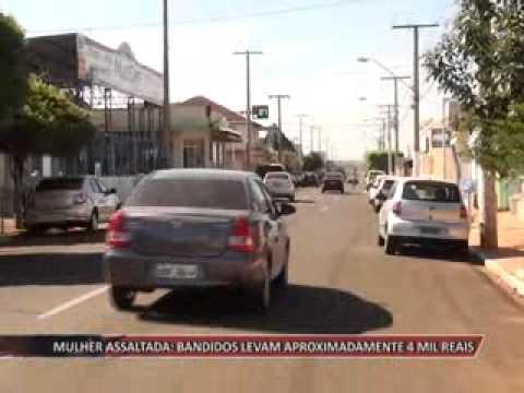 JATAÍ | Mulher é assaltada. Bandidos levam aproximadamente R$ 4 mil