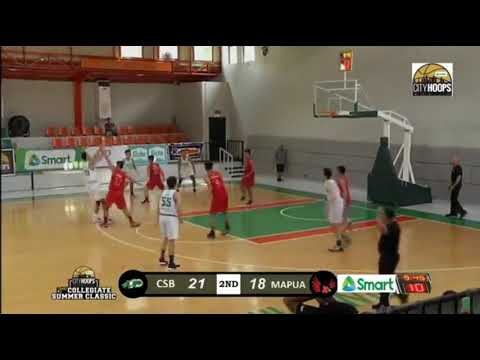 "Watch: Novice Big Men 6'9"" Ladis Lepalam And 6'10"" Jay Pangalangan Getting Some Court Time For Csb"