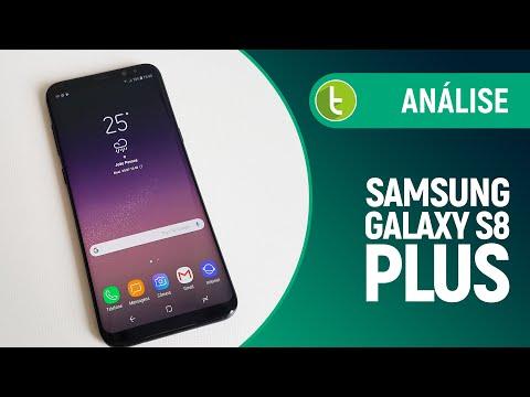 Análise do Galaxy S8 Plus  Review do TudoCelular