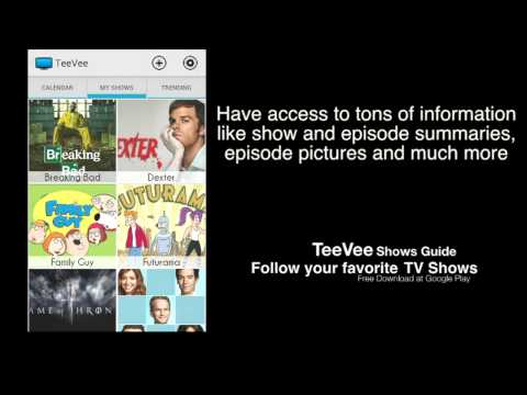 Video of TeeVee Shows and Series Guide