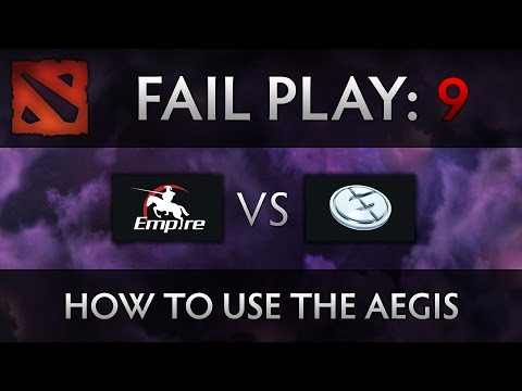 Dota 2 TI4 Fail Play – Empire vs EG – How to use the Aegis