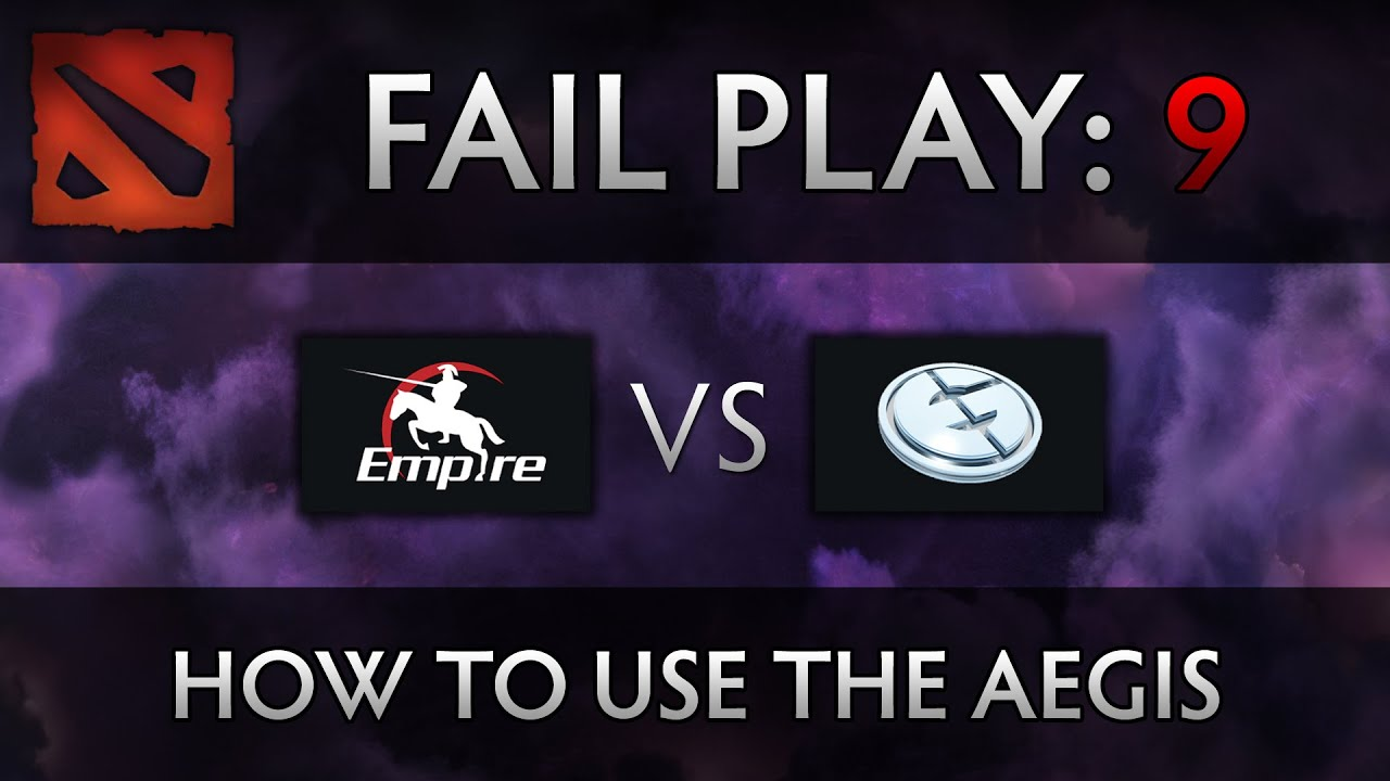 Dota 2 TI4 Fail Play – Empire vs EG – How to use the Aegis, xemgame