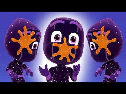 PJ Masks Episodes | Sticky Splats and Little Ninjas | Cartoons For Children