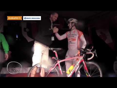 Épica llegada de Julián Sanz en la Race Around Slovenia 2012