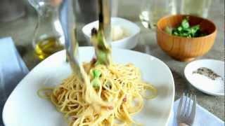 Cómo hacer espagueti carbonara