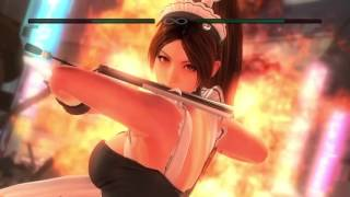DEAD OR ALIVE 5 Last Round Mai Scramble bottom combo