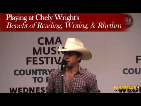 Justin Moore Interview during CMA Fest week
