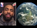 Kyrie Irving Shocks The Sports World By Stating He Believes The Earth Is Flat