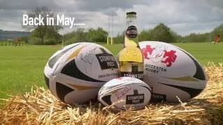 Promotional film for Stowford Press and Rugby World Cup