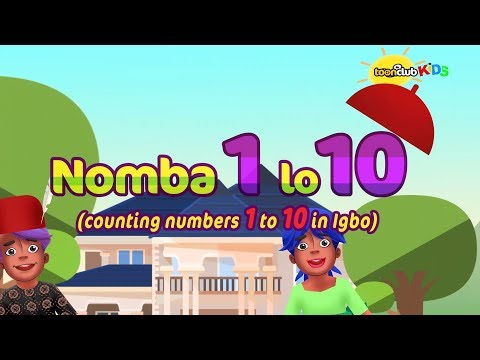 Nomba (Igbo) 1 lo 10 | Children's Songs & Nursery Rhymes